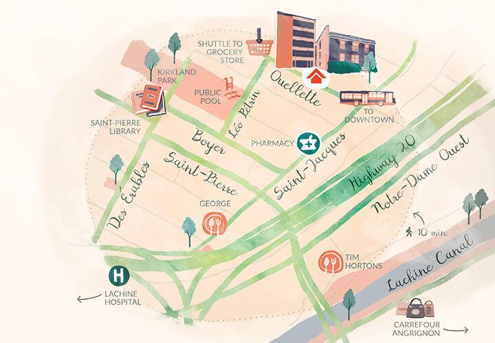 Carte Carrefour Angrignon.Www Residencesenharmonie Qc Ca Sites Default Files
